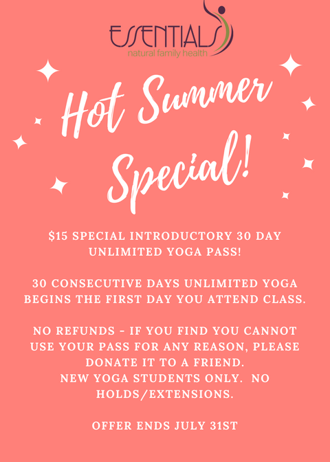 Hot Summer Yoga Special PNG